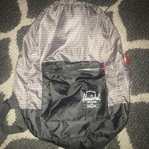 Herschel daypack packable Gray geo backpack